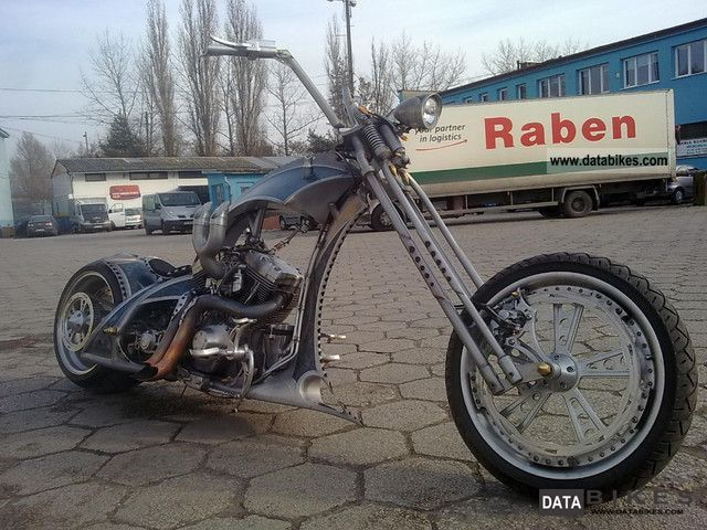 2011 Harley Davidson  Harley Davidson homemade JCB Motorcycle Chopper/Cruiser photo