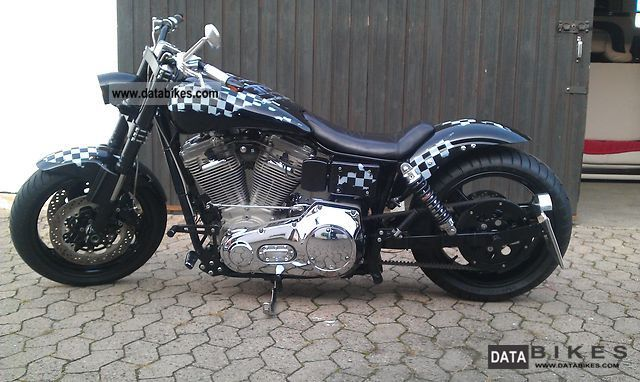 1997 Harley Davidson  Dyna Wide Glide Motorcycle Streetfighter photo