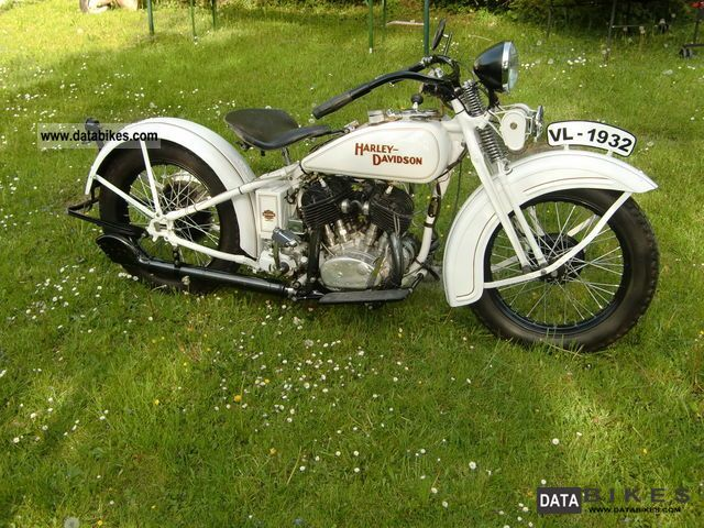 Harley Davidson  VL 1200 1932 Vintage, Classic and Old Bikes photo
