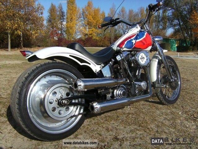 1989 Harley Davidson  Springer Softail Motorcycle Chopper/Cruiser photo