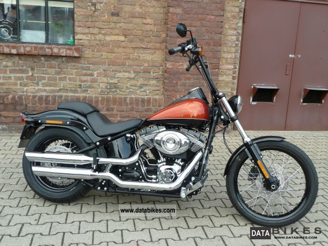 Harley Davidson  Blackline FXS conversion 2011 Chopper/Cruiser photo