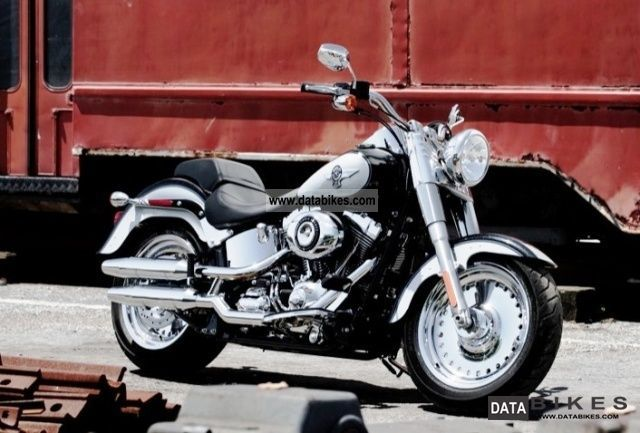 Harley Davidson  FLSTF Fat Boy 2012 2011 Chopper/Cruiser photo