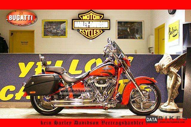 2011 Harley Davidson  FLSTSE2 CVO Screamin 'Eagle Convertible, ABS, V & H Motorcycle Chopper/Cruiser photo