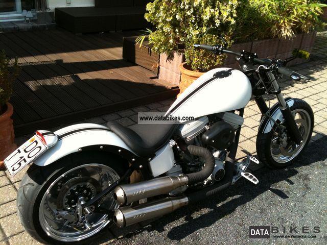 2000 Harley Davidson  Custom drag style \ Motorcycle Chopper/Cruiser photo