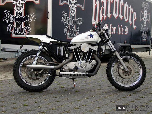 1981 Harley Davidson  Ironhead Road Trip - Evil Knievel Tribute Bike Motorcycle Chopper/Cruiser photo