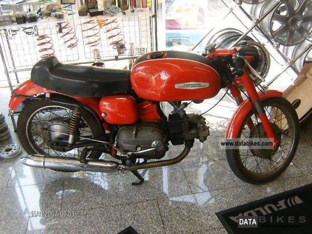 Harley Davidson  Aermacchi Ala Verde 250-H 1963 Vintage, Classic and Old Bikes photo