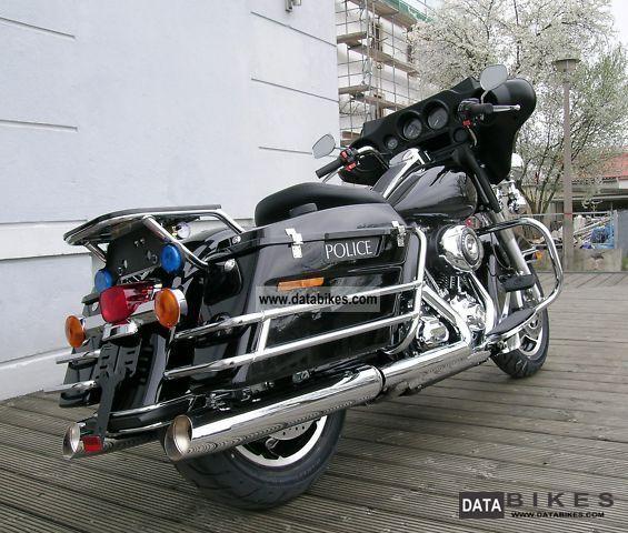 2011 Harley Davidson  FLHTP Electra Glide Police Motorcycle Tourer photo