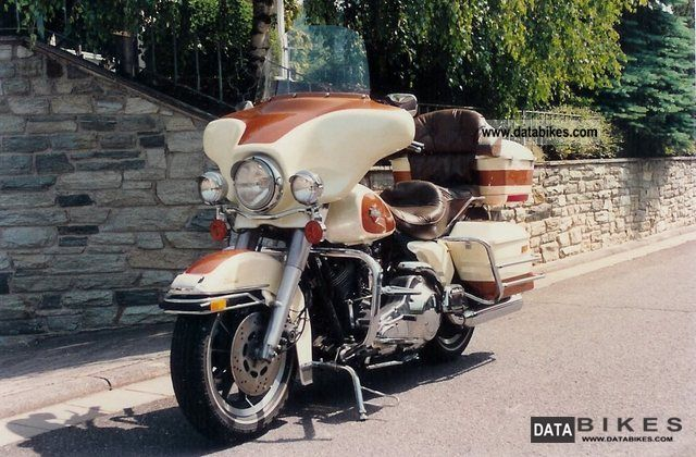 1988 Harley Davidson  E-Glide Classic Motorcycle Tourer photo