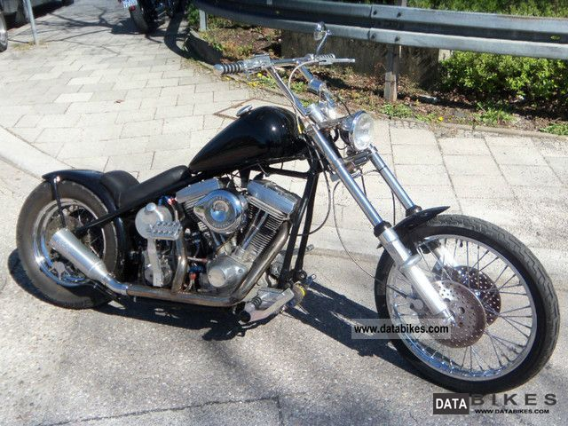 2007 Harley Davidson  star frame 1340 evo Motorcycle Chopper/Cruiser photo