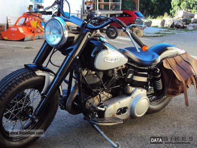 Harley Davidson  Early Shovel Bobber complete restoration 1965 Vintage, Classic and Old Bikes photo