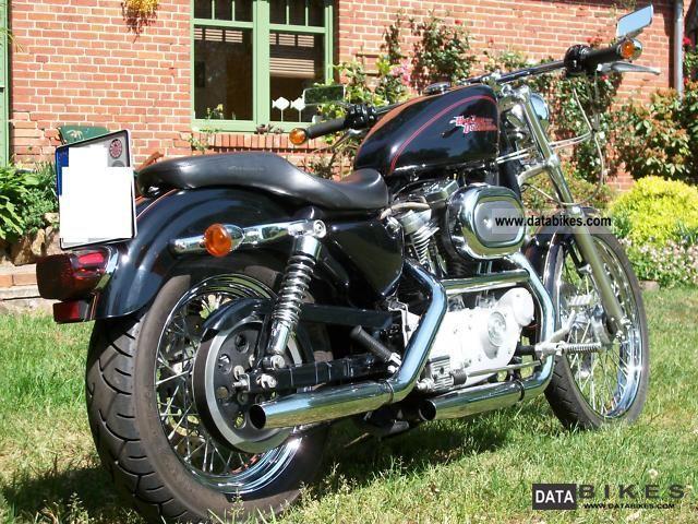 2001 Harley Davidson  Sportster 883 Motorcycle Chopper/Cruiser photo