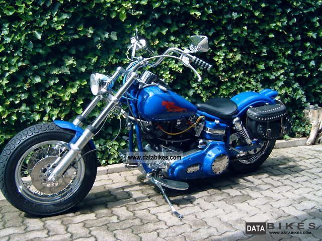 1958 Harley Davidson  FLH (reconstruction) Motorcycle Chopper/Cruiser photo