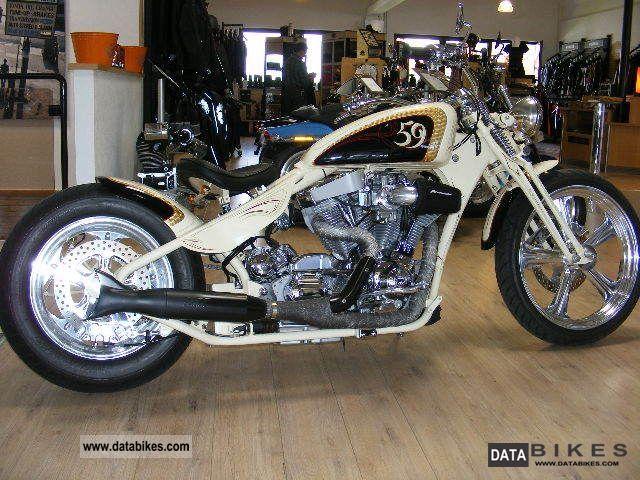 2007 Harley Davidson  Penz Boardtracker Springer Old School Motorcycle Motorcycle photo