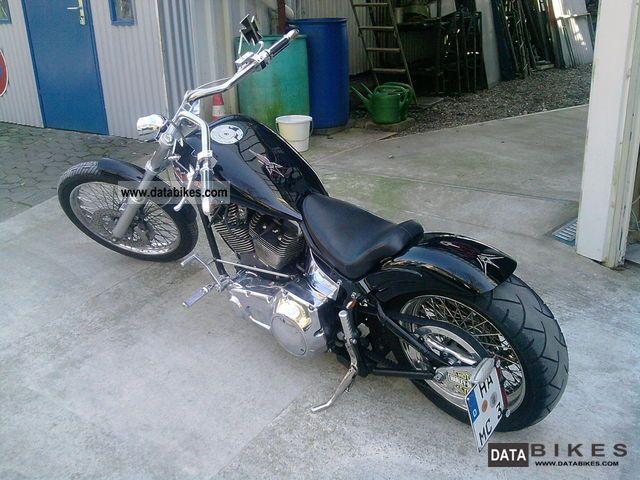 2007 Harley Davidson  REVTECH chopper frame 100 in the HPU Motorcycle Chopper/Cruiser photo