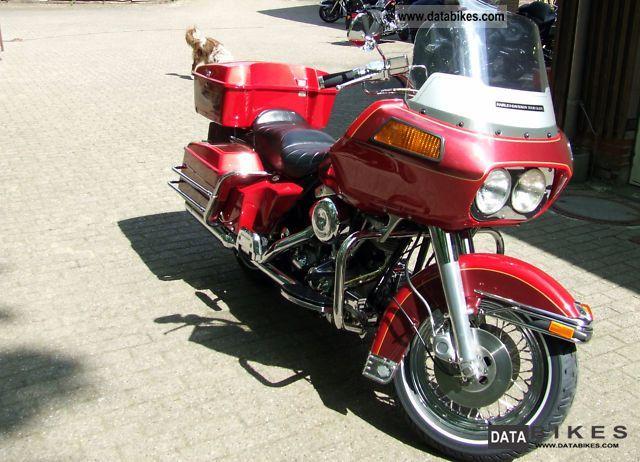 1981 Harley Davidson  FLHT Tour Glide Classic Motorcycle Tourer photo