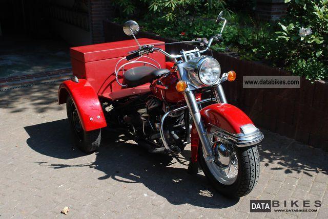 1953 Harley Davidson  Servicar Motorcycle Other photo