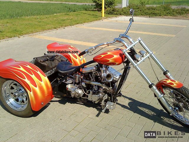 1964 Harley Davidson  Servi Car Servicar modified / trike Motorcycle Chopper/Cruiser photo