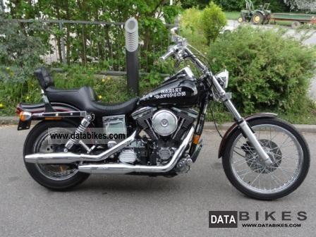 1994 Harley Davidson  FXWG Wide Glide Motorcycle Chopper/Cruiser photo