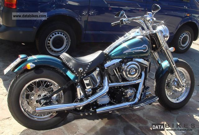 Harley Davidson  FLST-C! Top cared! Custom Chrome 1998 Chopper/Cruiser photo