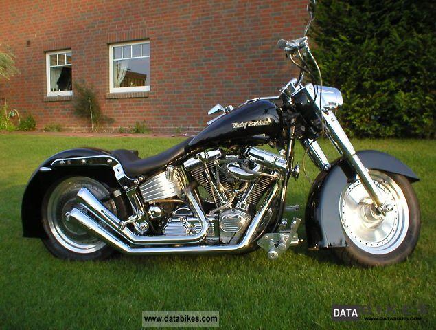 1996 Harley Davidson  FLSTC Motorcycle Chopper/Cruiser photo