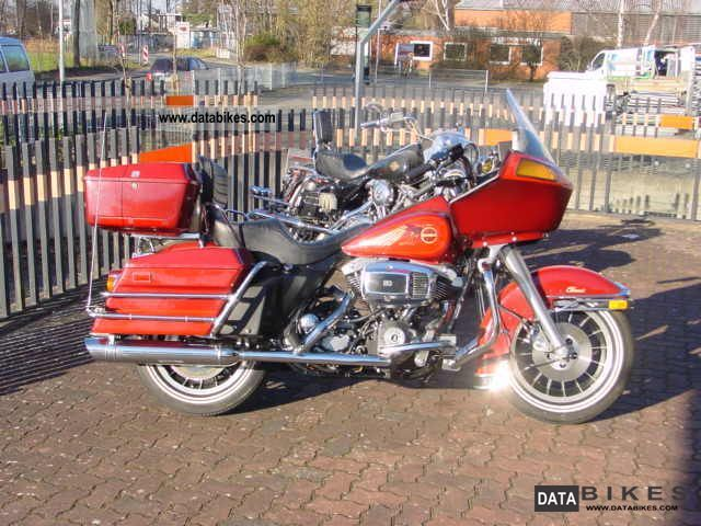 1981 Harley Davidson  FLHTC collectible Motorcycle Tourer photo