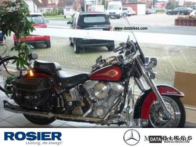 1996 Harley Davidson  Heritage Softtail Motorcycle Chopper/Cruiser photo