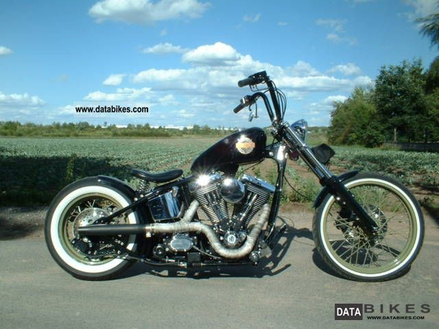 Harley Davidson  FL, Santee Old School Bobber, electric starter, Einzelstü 1958 Chopper/Cruiser photo