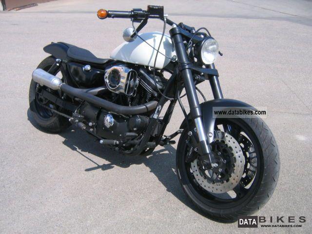 1990 Harley Davidson XL 2 Sportster 1200 Motorcycle