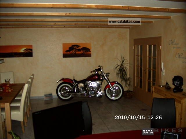 Davidson fat bobber old school built only 780 pieces motorcycle