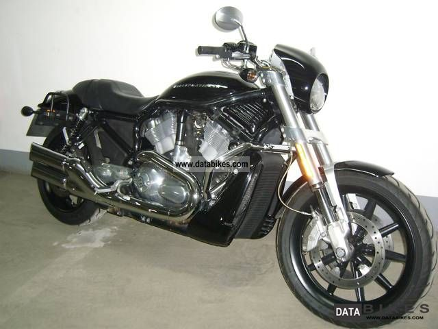 2005 Harley Davidson  Street Rod VRSCR Motorcycle Naked Bike photo