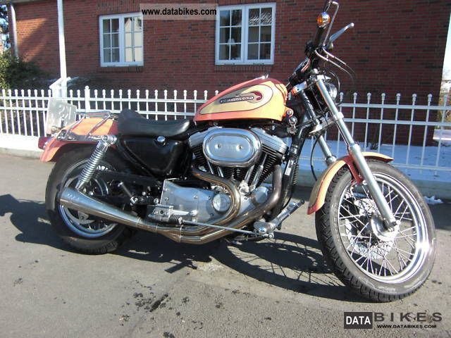 1995 Harley Davidson  Sportster 1200 Motorcycle Chopper/Cruiser photo
