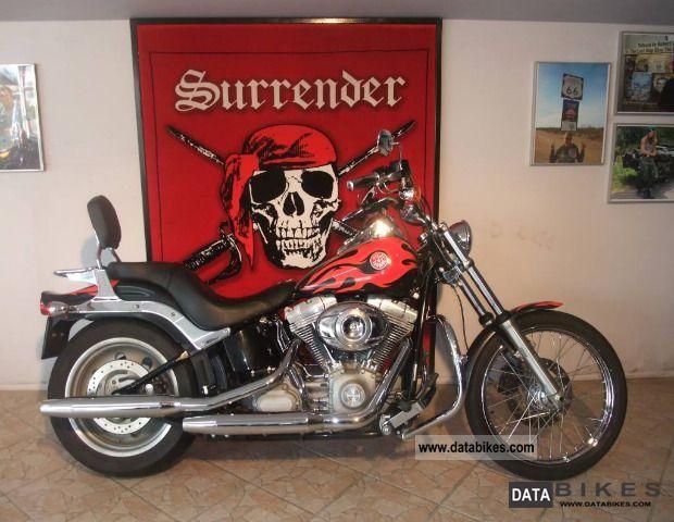 2007 Harley Davidson  Softail Standard FXST - CUSTOM Motorcycle Motorcycle photo