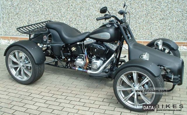 2009 Harley Davidson  Q-TEC Harley Softail Dual Motorcycle Quad photo
