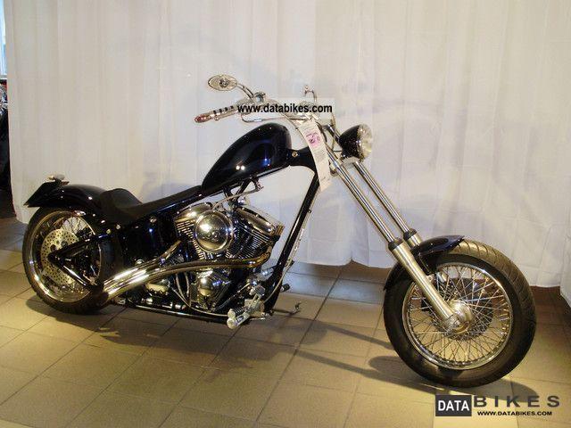 2007 Harley Davidson Chopper In Santee Frame Highneck