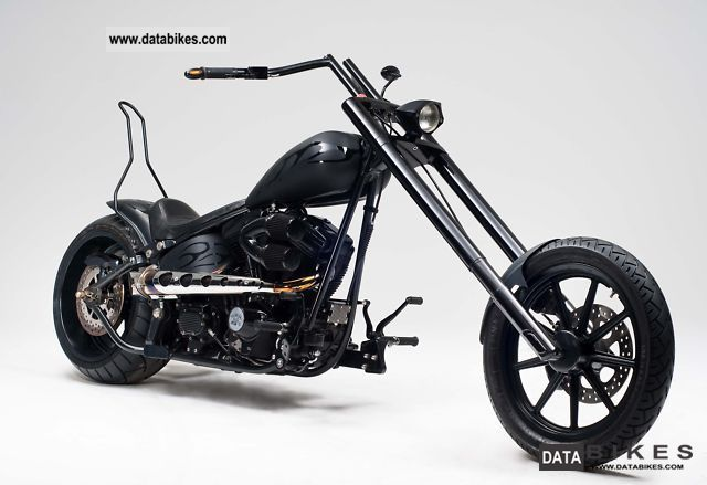 2006 Harley Davidson  FXST Motorcycle Chopper/Cruiser photo