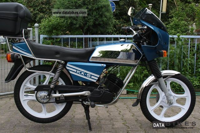 1989 Hercules  KX 5 Motorcycle Motor-assisted Bicycle/Small Moped photo