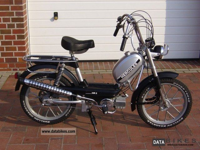 1980 Hercules  Hobby Rider HR2 Motorcycle Motor-assisted Bicycle/Small Moped photo