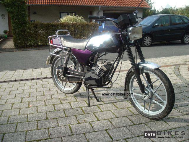 1982 Hercules  Moped GX / GT, no CS Motorcycle Motor-assisted Bicycle/Small Moped photo