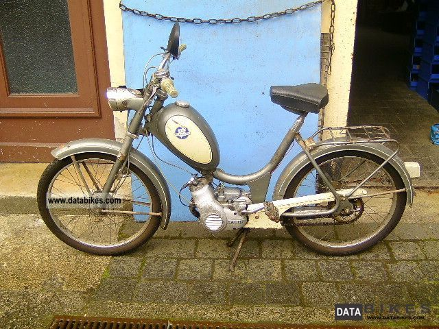 Hercules  25 moped 221MFH 1965 Vintage, Classic and Old Bikes photo