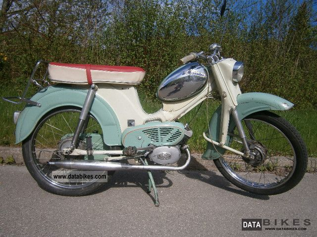 1959 Hercules  220 Motorcycle Motor-assisted Bicycle/Small Moped photo