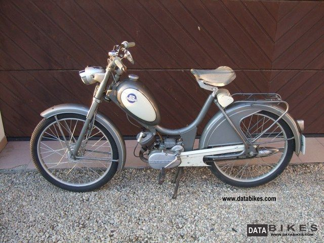 1966 Hercules  221 T Motorcycle Motor-assisted Bicycle/Small Moped photo