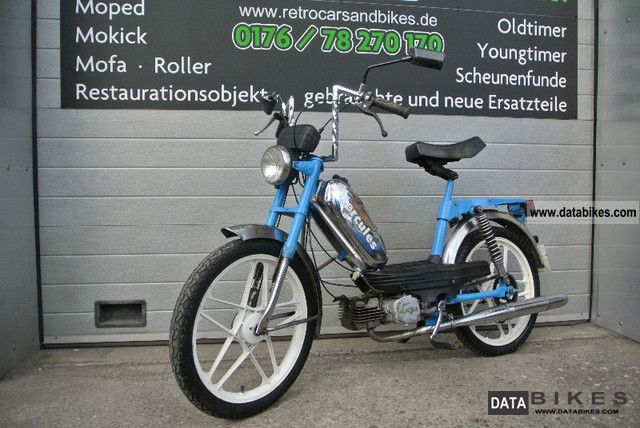 Hercules  M5 / Prima 5th More mopeds on sale! 1979 Vintage, Classic and Old Bikes photo