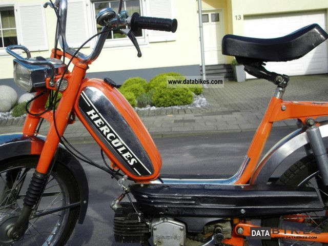 1978 Hercules  M4 Motorcycle Motor-assisted Bicycle/Small Moped photo