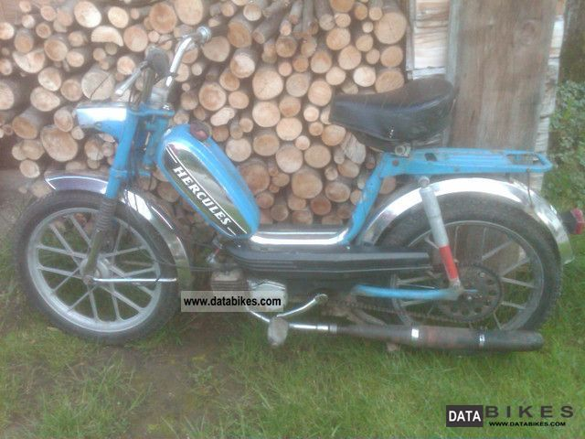 1980 Hercules  M4 Motorcycle Motor-assisted Bicycle/Small Moped photo
