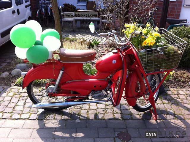 1967 Hercules  50 Lastboy Motorcycle Motor-assisted Bicycle/Small Moped photo