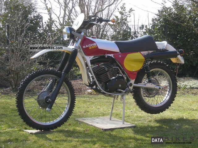 1977 Hercules  Sachs GS 250 (DKW) 1977 Motorcycle Rally/Cross photo