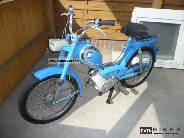 1972 Hercules  The cult of the 70 MF3 moped Motorcycle Motor-assisted Bicycle/Small Moped photo