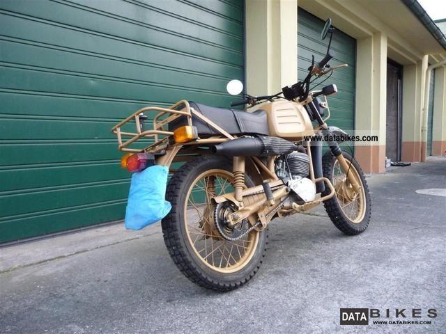 1973 Hercules  K 125 BW Motorcycle Enduro/Touring Enduro photo