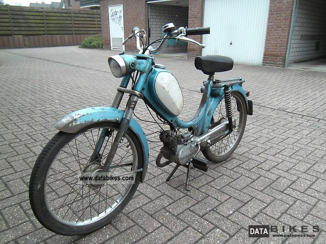 Hercules  TH 222 moped 1968 Vintage, Classic and Old Bikes photo