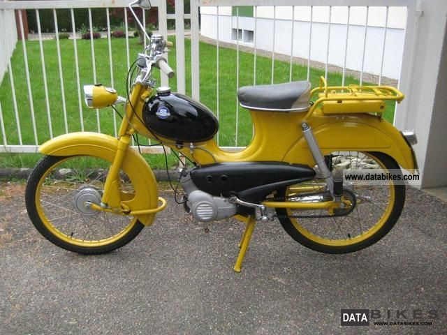 1966 Hercules  Lastboy Motorcycle Motor-assisted Bicycle/Small Moped photo